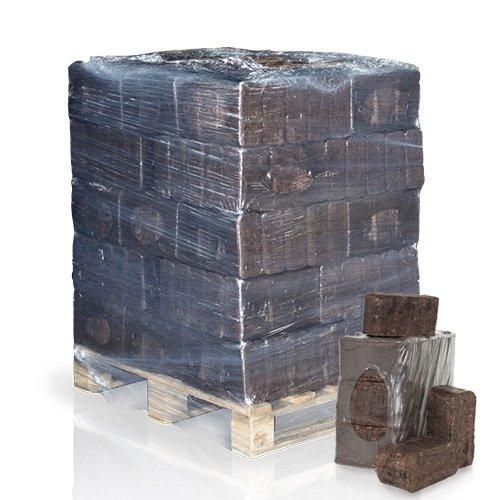 PALIGO RUF Rindenbriketts Gluthalter Dauerbrenner Kamin Ofen Brenn Holz Heiz Brikett 8kg x 37 Gebinde 296kg / 1 Palette HEIZFUXX®
