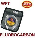 WFT Fluorocarbon Vorfach Schnur 50m (0,60mm-1,20mm),Durchmesser:1.00mm