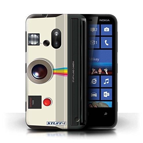 Kobalt® Imprimé Etui / Coque pour Nokia Lumia 620 / Instantanée Retro conception / Série Appareil Photo Instantanée Retro
