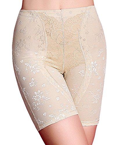 Control Waist Boyleg / Body Shaper Thigh Slimmer Boyshort Shapewear Underwear (3XL, Beige) (Shaping Tank Control)