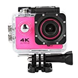"30M Waterproof 4K SJ60 Wifi HD 1080P 2.0"" LCD Ultra Sports Action Camera DVR Cam Camcorder (Rose)"