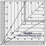Quadratisch Quilt Entwerfen und Crafting Quilting Lineal Template 6.5 x 6.5 Zoll