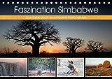 Faszination Simbabwe (Tischkalender 2018 DIN A5 quer): Bilder aus verschiedenen Nationalparks in Simbabwe (Monatskalender, 14 Seiten ) (CALVENDO Natur) [Kalender] [May 23, 2017] Stern, Angelika - Angelika Stern
