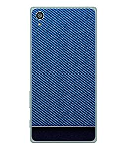 Fuson Designer Back Case Cover for Sony Xperia Z3+ :: Sony Xperia Z3 Plus :: Sony Xperia Z3+ dual :: Sony Xperia Z3 Plus E6533 E6553 :: Sony Xperia Z4 (Rough Wearable Blue Girl Boy Gents Ladies)