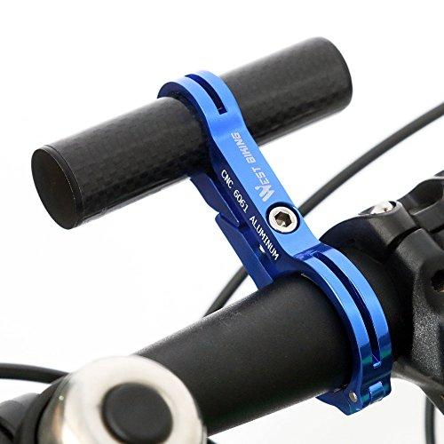 West Biking Lenker Extender–Multifunktions Fahrrad Erweiterung Griff Fahrrad-Zubehör für Computer, Lichter, Smartphone Fällen-Klammern, vier Farben, Kinder Herren damen, blau