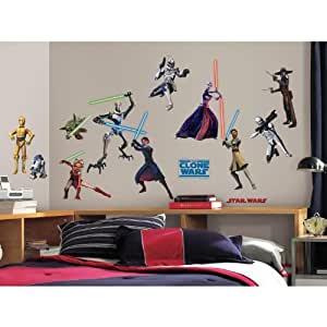 Star Wars Clone Wars Peel & Stick Appliques