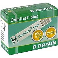 OMNITEST Plus Teststreifen, 2X25 St preisvergleich bei billige-tabletten.eu