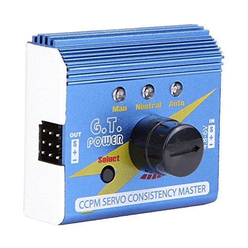 Aluminiumlegierung 3 Modi RC Servo ESC Tester CCPM Konsistenz Checker für RC Flugzeug Hubschrauber Drone Auto