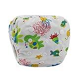 Baby Badewindelhose Schwimmwindel,COLORFUL Nette Muster Bademode Badehose Shorts für Neugeborene Kleinkind Baby Jungen Mädchen 16 Farben(0-24 Monate) (B)