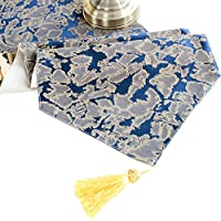 TableFlag Paño Bandera Minimalista posmoderna Mesa de Comedor Dorada geométrica nórdica Mesa de café Bandera Azul