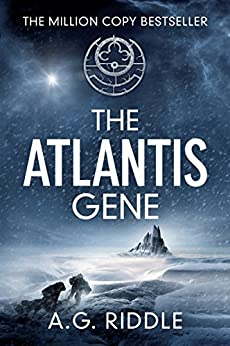 The Atlantis Gene: A Thriller (The Origin Mystery, Book 1) (English Edition) par [Riddle, A.G.]