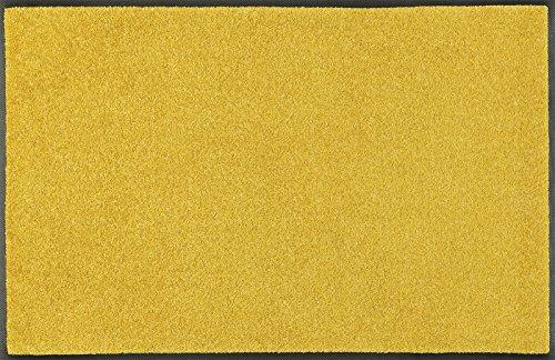 wash+dry Trend-Colour Honey Gold Fußmatte, Acryl, gelb, 40 x 60 x 0.7 cm
