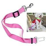 1PCS Gürtel Verstellbare Universal Hundeleine Auto Automobil Seatbelt Adapter Extender Adjustable Sicherheits Sicherheitsgurt Restraint für Reisen mit dem Hund Pet