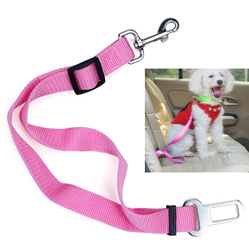hundeinfo24.de 1PCS Gürtel Verstellbare Universal Hundeleine Auto Automobil Seatbelt Adapter Extender Adjustable Sicherheits Sicherheitsgurt Restraint für Reisen mit dem Hund Pet