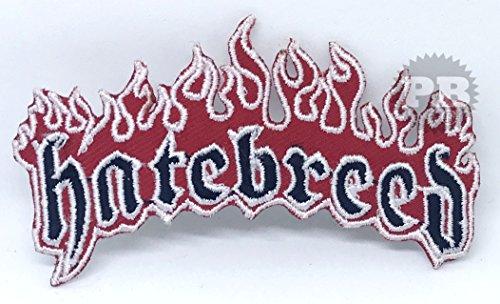 # 1285Hatebreed American Metalcore Band Logo Eisen/Nähen auf bestickt Patch