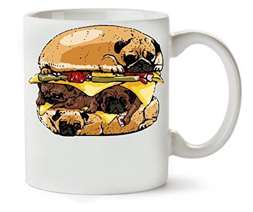C+P of Pugs Klassische Teetasse Kaffeetasse