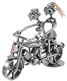 Schraubenmännchen Motorrad Mann mit Frau I Handarbeit I Geschenkidee I Metallfigur I Metallmännchen I Stahlfigur I Schraubenmännle