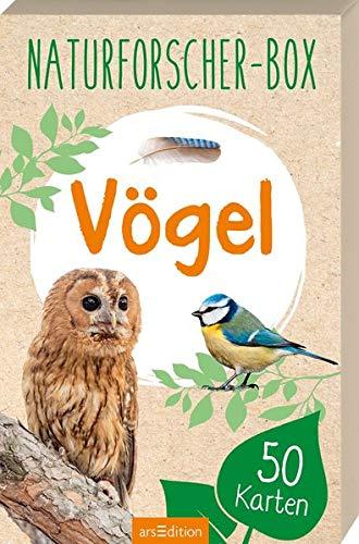 Naturforscher-Box - Vögel: mit 50 Karten