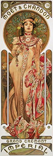 posters-alphonse-mucha-poster-reproduction-mot-et-chandon-1899-91-x-30-cm