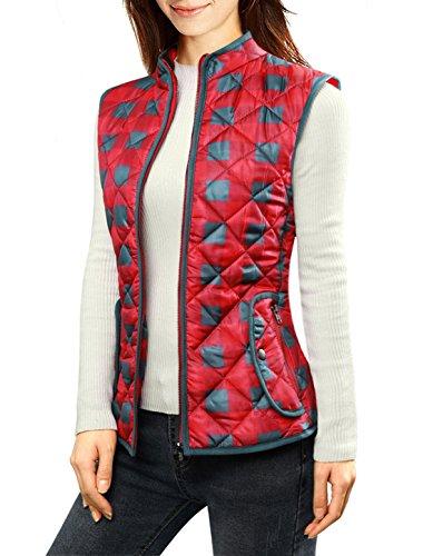 sourcingmapr-femme-fermeture-eclair-plaids-matelasse-gilet-rouge-100-polyester-femmes-l-44
