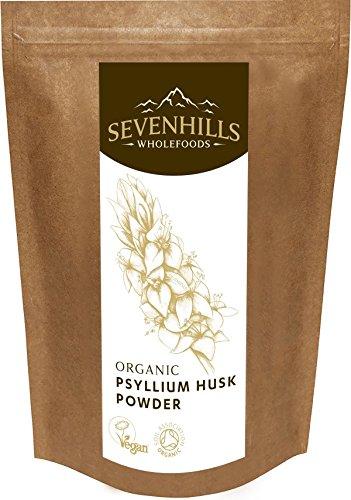 Sevenhills Wholefoods Flohsamenschalen-Pulver Bio 2kg