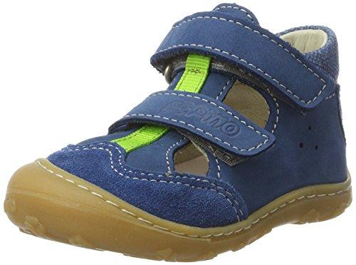 Ricosta Ebi, Chaussures Marche Mixte Bébé Bleu (pétrole)