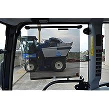 Cortina Solar para Tractor 59x53 cm, 2 Unidades