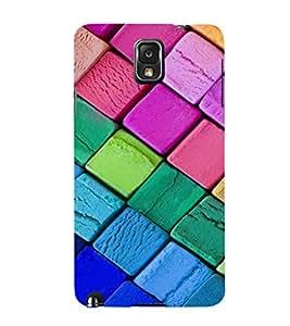 EPICCASE Colorful Chalk Pattern Mobile Back Case Cover For Samsung Galaxy Note 3 (Designer Case)