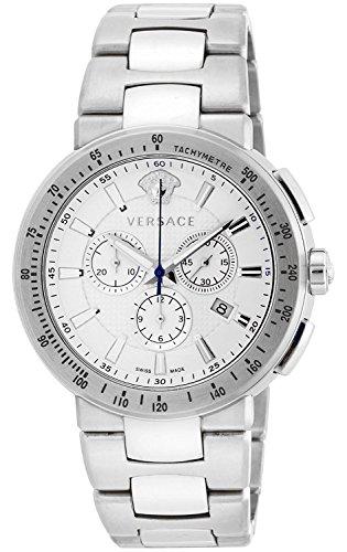 VERSACE orologio Mystique sport bianco quadrante cronografo VFG090013uomo Parallel Import Goods]