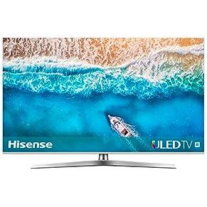 Hisense Fernseher (4K Ultra HD, HDR, Dolby Vision, Triple Tuner, Smart-TV, USB-Aufnahmefunktion)