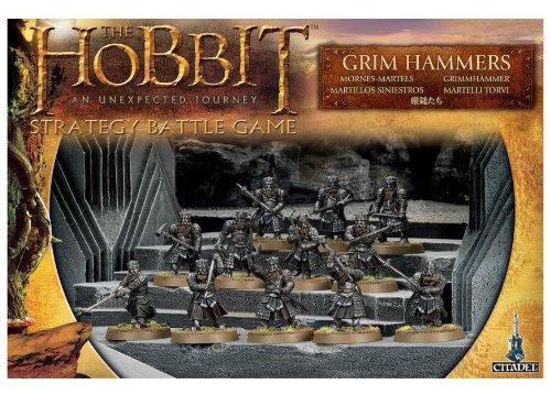 Games Workshop The Hobbit Strategy Battle Game - Grim Hammers - Games Workshop