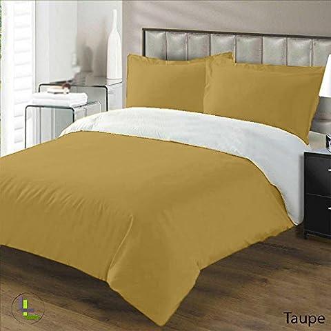 600TC 100% cotone egiziano, finitura elegante 3pcs reversibile Duvet Set