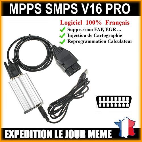 Preisvergleich Produktbild MISTER DIAGNOSTIC Koffer Programmierung für mehrere Marken – MPPS V3 Professional