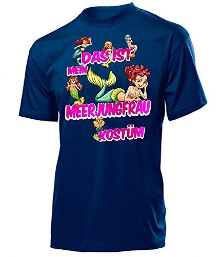 GFRAU Kostüm 1774 Herren T-Shirt (H-N-Blau) Gr. XXL (Herren-meerjungfrau Kostüm)
