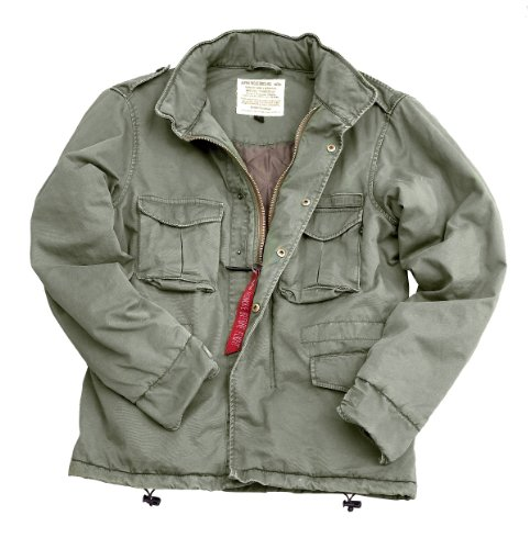 Alpha Industries Jacket Combat CW II 183102 Light Olive