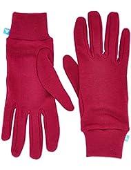 Odlo para mujer Guantes caliente, Magenta Purple, XXS, 10640