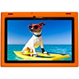 BobjGear Carcasa Resistente Para Tablet Lenovo 10 TB-X103F and Tab 2 A10-30, Tab2 X30F - Bobj Funda Protectora (Naranja)