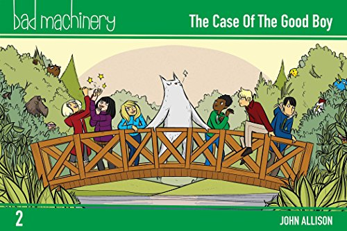 Bad Machinery Volume 2: The Case of the Good Boy, Pocket Edition (Bad Machinery Volume 1 Pocket) por John Allison