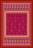 Bassetti Monte Rosa V1 Plaid, Baumwolle, Rot, 135x190 cm