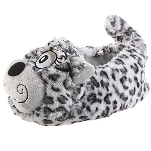 Plüsch-hausschuhe Katze (SAMs Katze Heizi Tier Hausschuhe Pantoffel Puschen Schlappen Kuscheltier Plüsch Damen Schwarz 35-39, TH-Stubentiger, Größe 37-39)