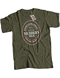 bybulldog® Mudders Milk Mens Premium T-Shirt Firefly Serenity Choice of 14 Colours Small to 3XL