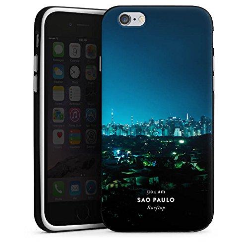 Apple iPhone X Silikon Hülle Case Schutzhülle Brasilien Techno House Silikon Case schwarz / weiß