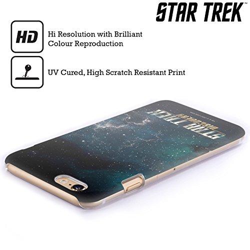 Ufficiale Star Trek Uniforme Distintivo Discovery Logo Cover Retro Rigida per Apple iPhone 6 / 6s Senza Scudo