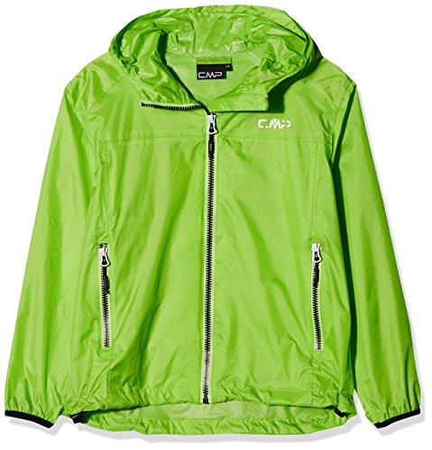 CMP Jungen Regenjacke Jacke, Grün (Gecko), 152