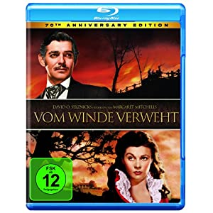 Vom Winde verweht - 70th Anniversary Edition [Edizione: Germania]