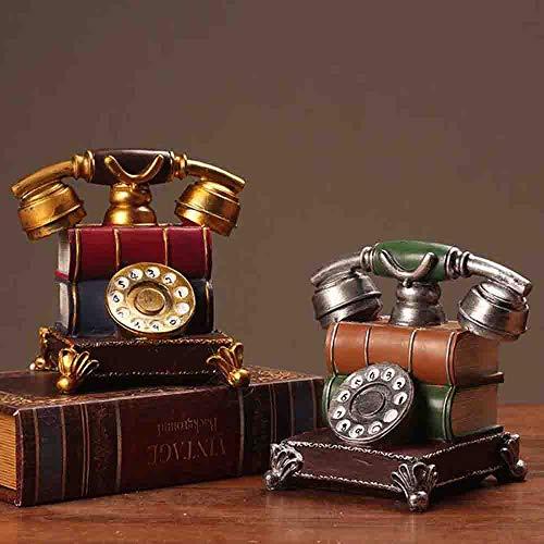 MEICHEN Telefon-Dekoration des Europäischen Telefonmodells Kreatives Nach Hause Retro- Verzierungsdekorationswohnzimmerkaffee-Fälschung