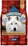 Blau Buffalo Wilderness Rocky Mountain Rezept Trockenfutter Senior Hund