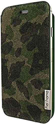 Piel Frama 686SWN Swaro Etui rigide pour iPhone 6 Plus Orange Camuflaje (Verde)
