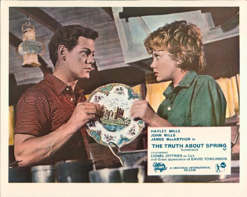 Truth About Spring Hayley Mills James MacArthur Lobby