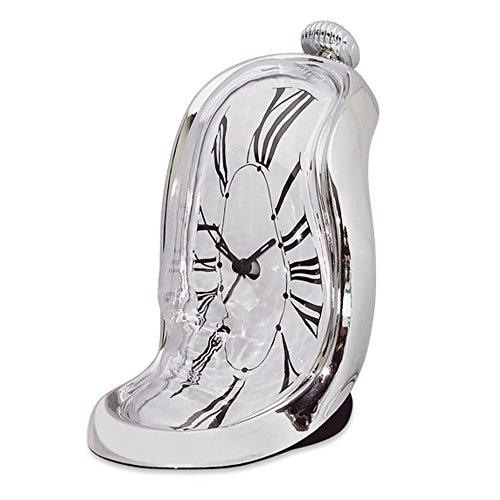 Funtime 12846 - Reloj despertador derretido de Dalí - Reloj Dalí despertador